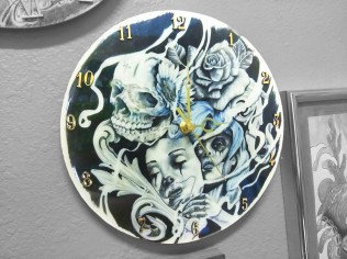 Wall Clocks - Mask Off